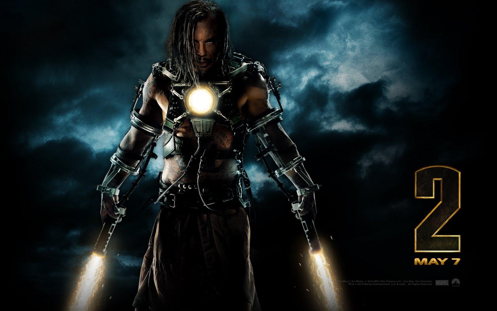Iron Man 2 Wallpaper Film Kino Trailer 1600x1000