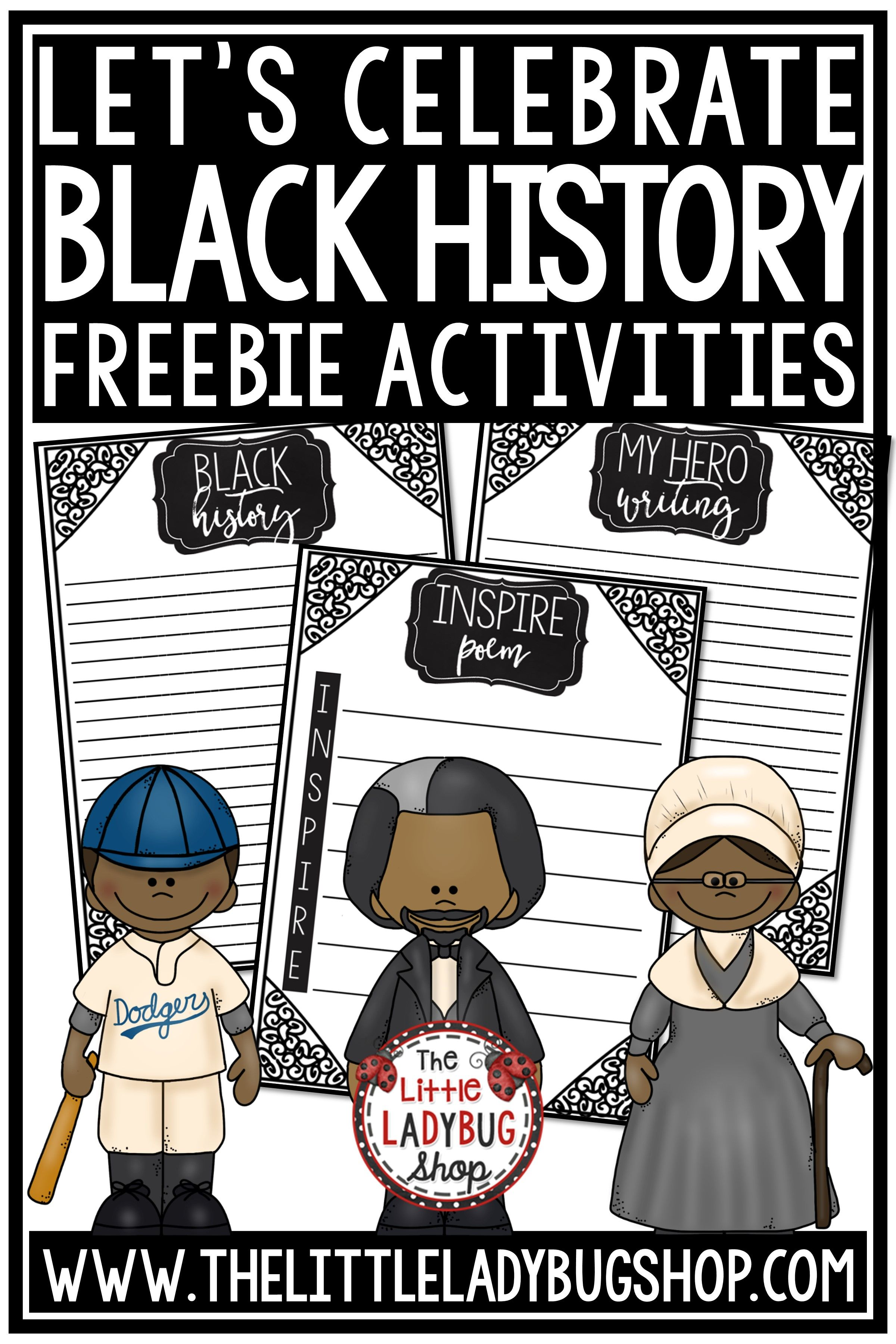 Black History Month 2020 Clipart 2400x3600