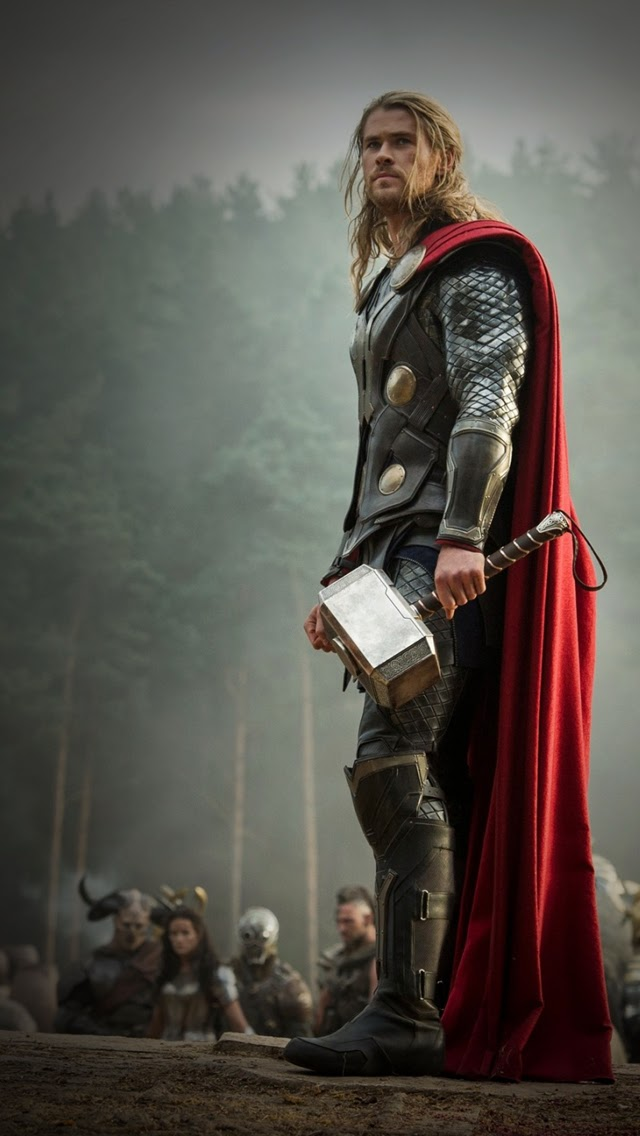 thor iphone wallpaper wallpapersafari