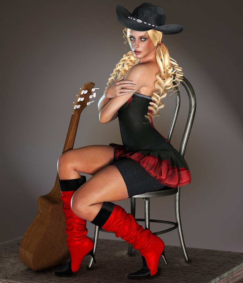 Country music singer by VirtualWorld 828x966