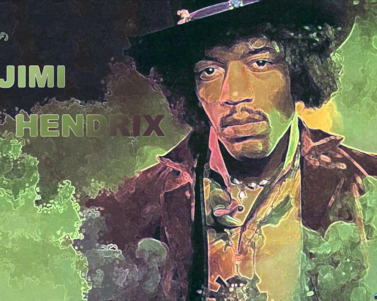 Jimi Hendrix Wallpaper   Classic Rock Wallpaper 20405230 1280x1024