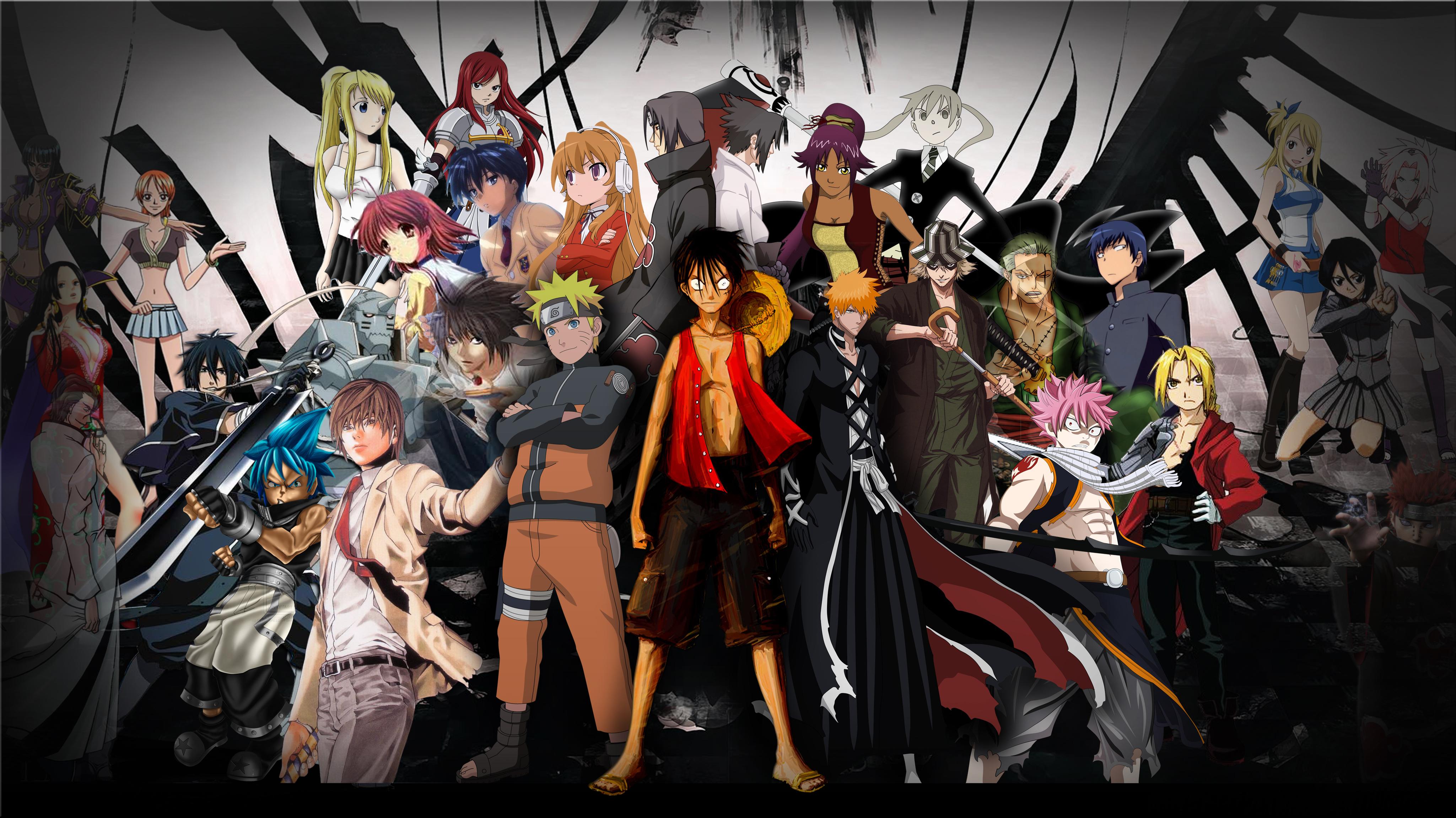 Anime Mix HD Wallpaper 664 Wallpaper Viewallpapercom 4098x2304
