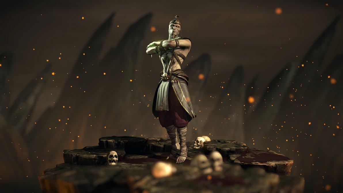 Pharaoh Ermac   Mortal Kombat XL by Yurtigo 1191x670