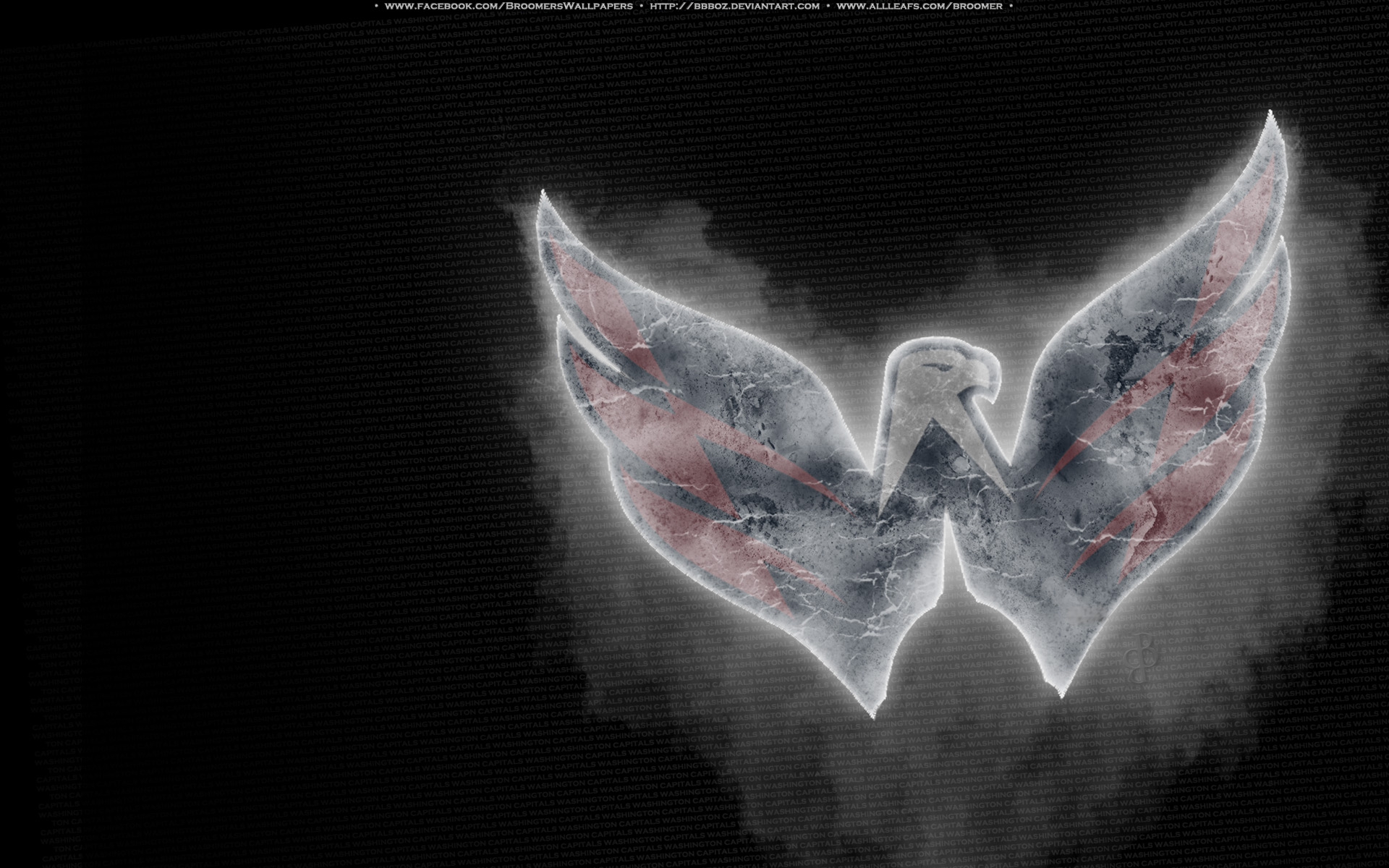 Washington Capitals Ice by bbboz 1920 x 1200 1920x1200