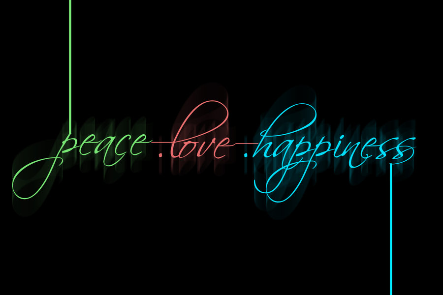 Free download Peace love and happiness HD wallpaper 2239866 ...