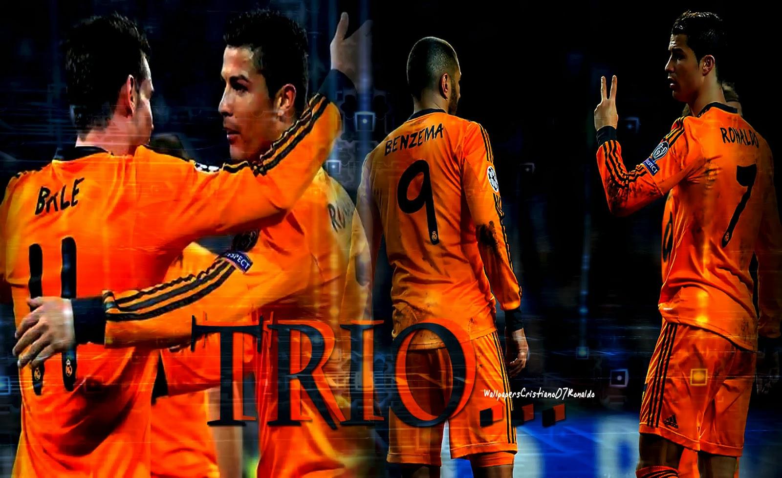Ronaldo and Bale Wallpaper - WallpaperSafari