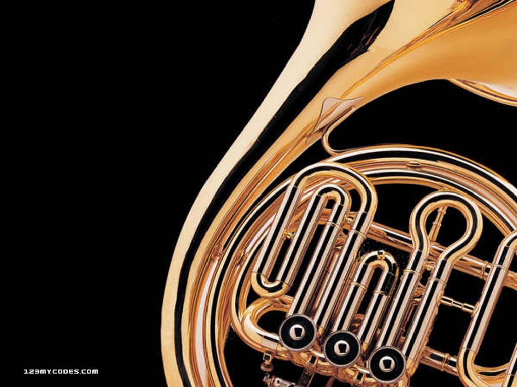 French Horn Wallpaper - WallpaperSafari
