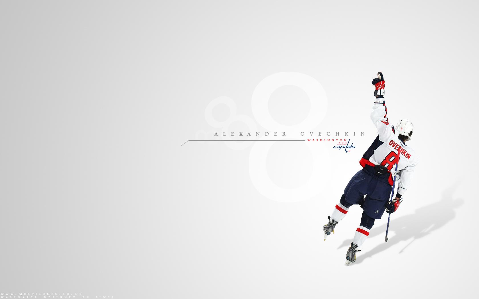 Alexander Ovechkin NHL Hockey Washington Capitals wallpaper background 1680x1050
