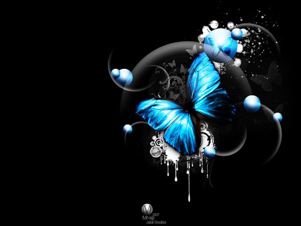 Top Wallpaper Design 3d Butterfly Wallpapers 1024x768