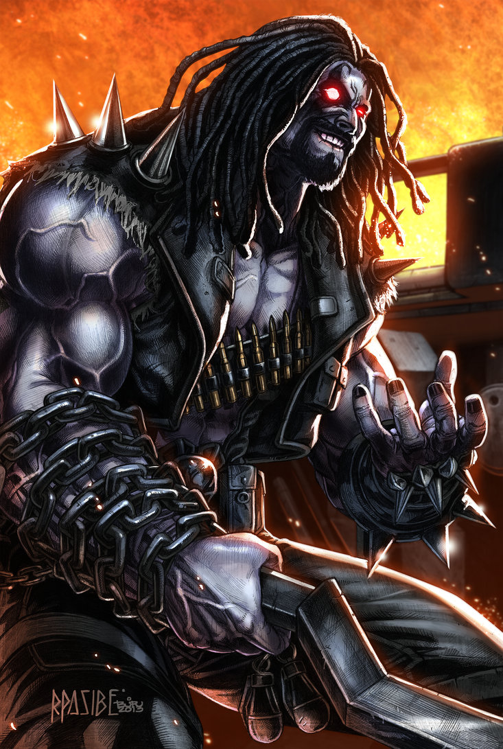 LOBO by ProssComics 733x1091