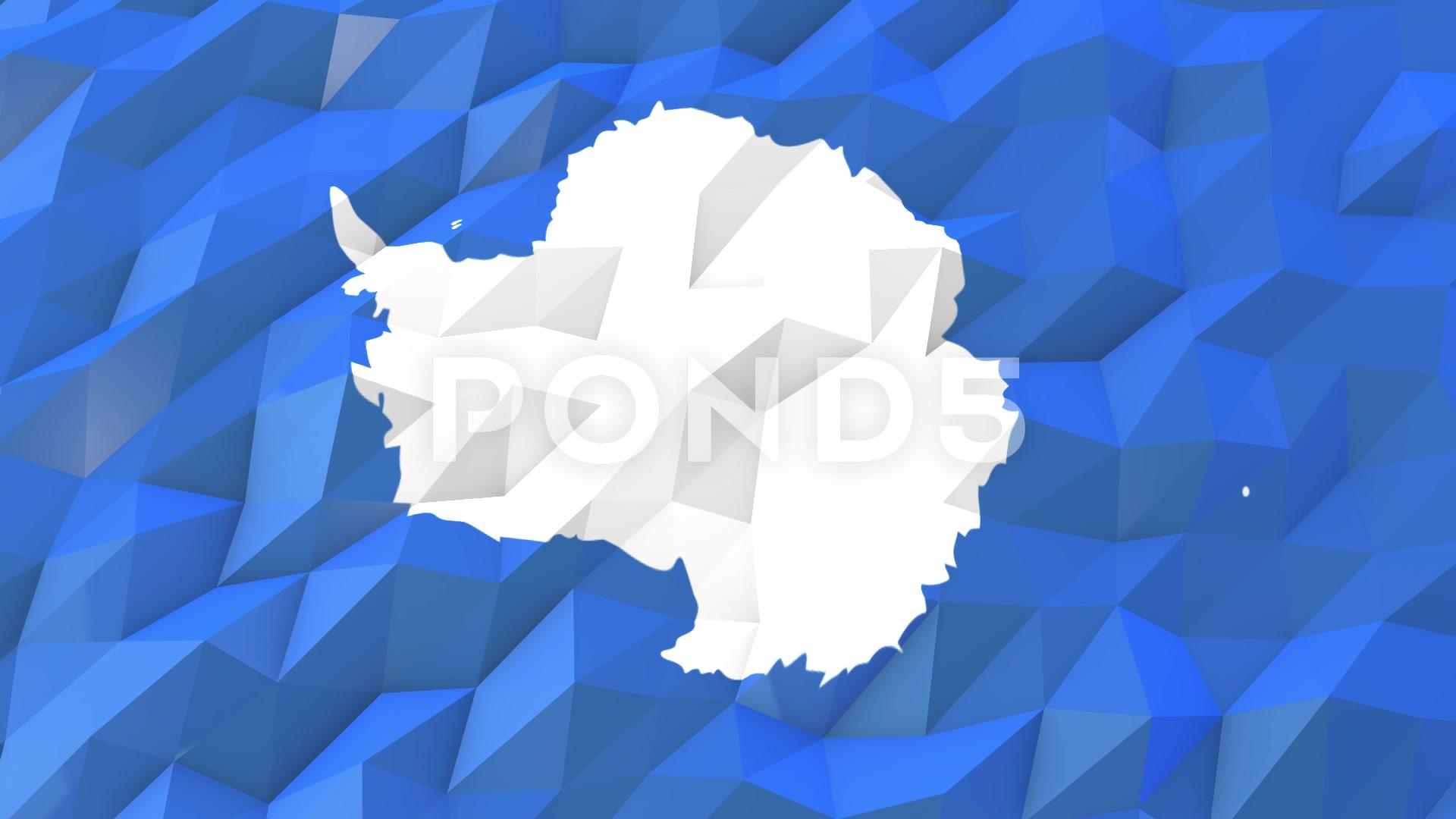 Flag of Antarctica 3D Wallpaper Illustration Video 66418360 1920x1080