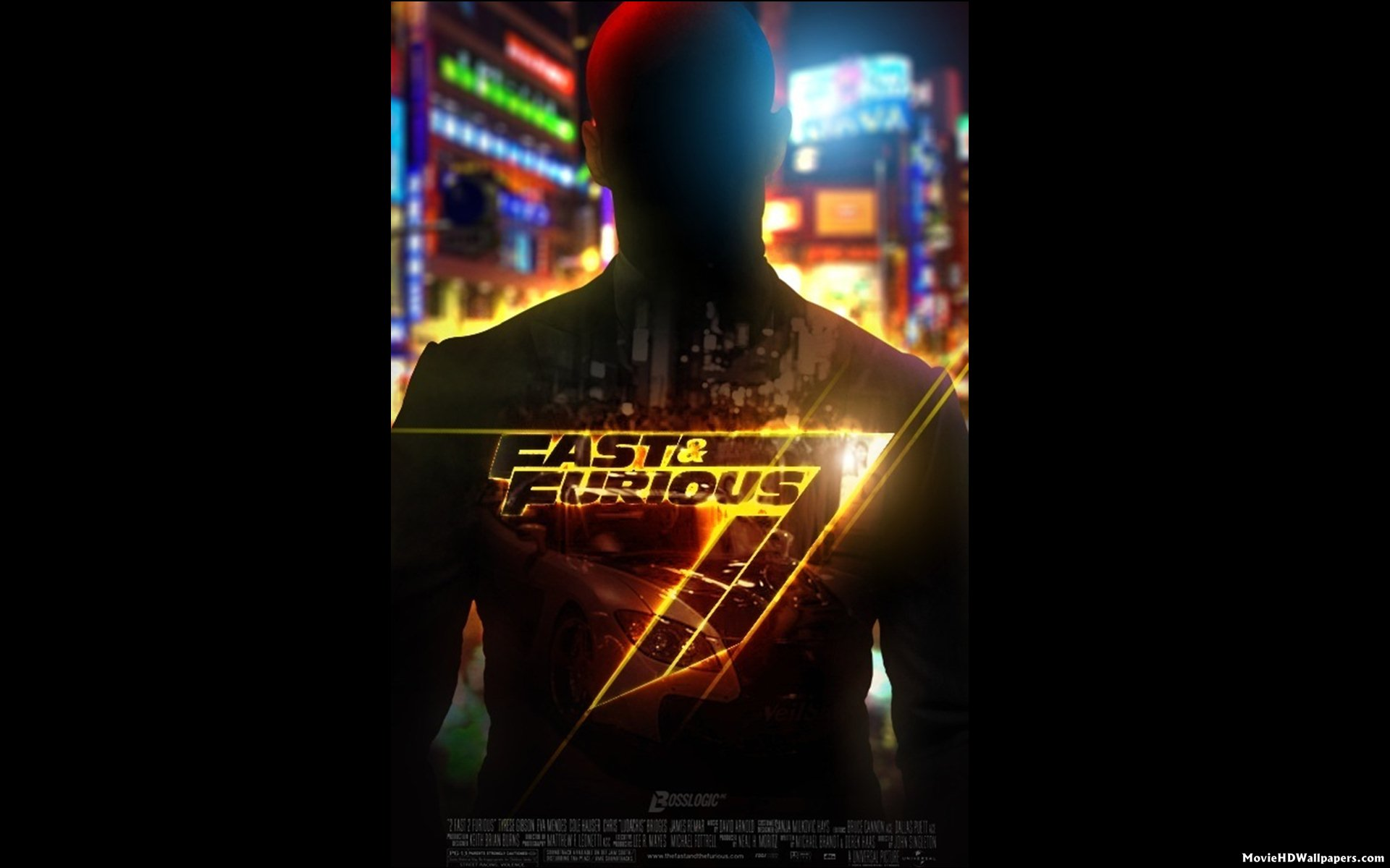 Fast Furious 7 2014 Poster Movie HD Wallpapers 1920x1200