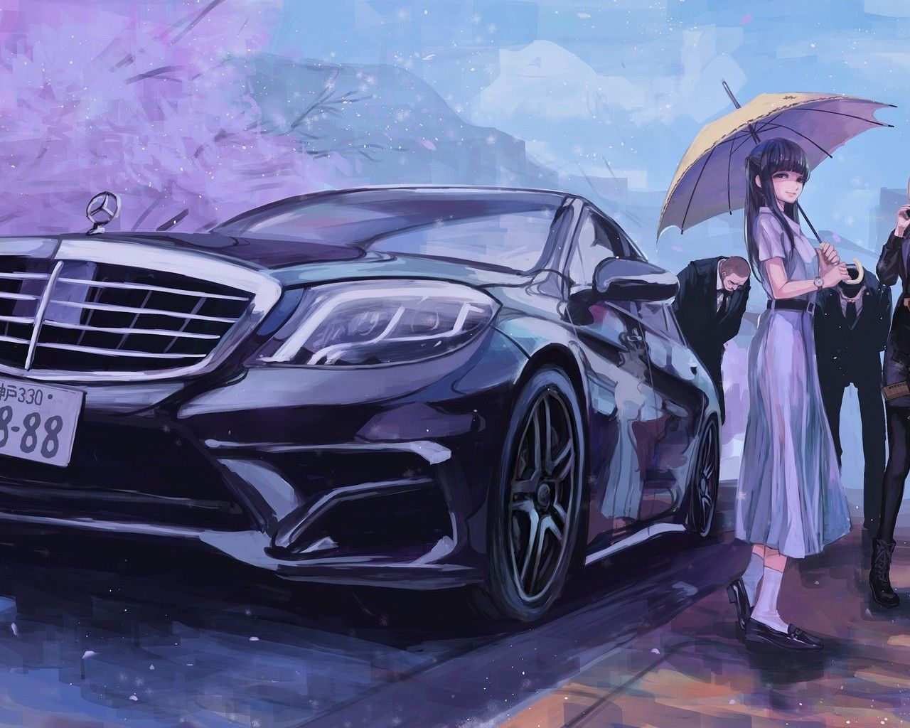 Car Anime Wallpapers   Top Car Anime Backgrounds 1280x1024