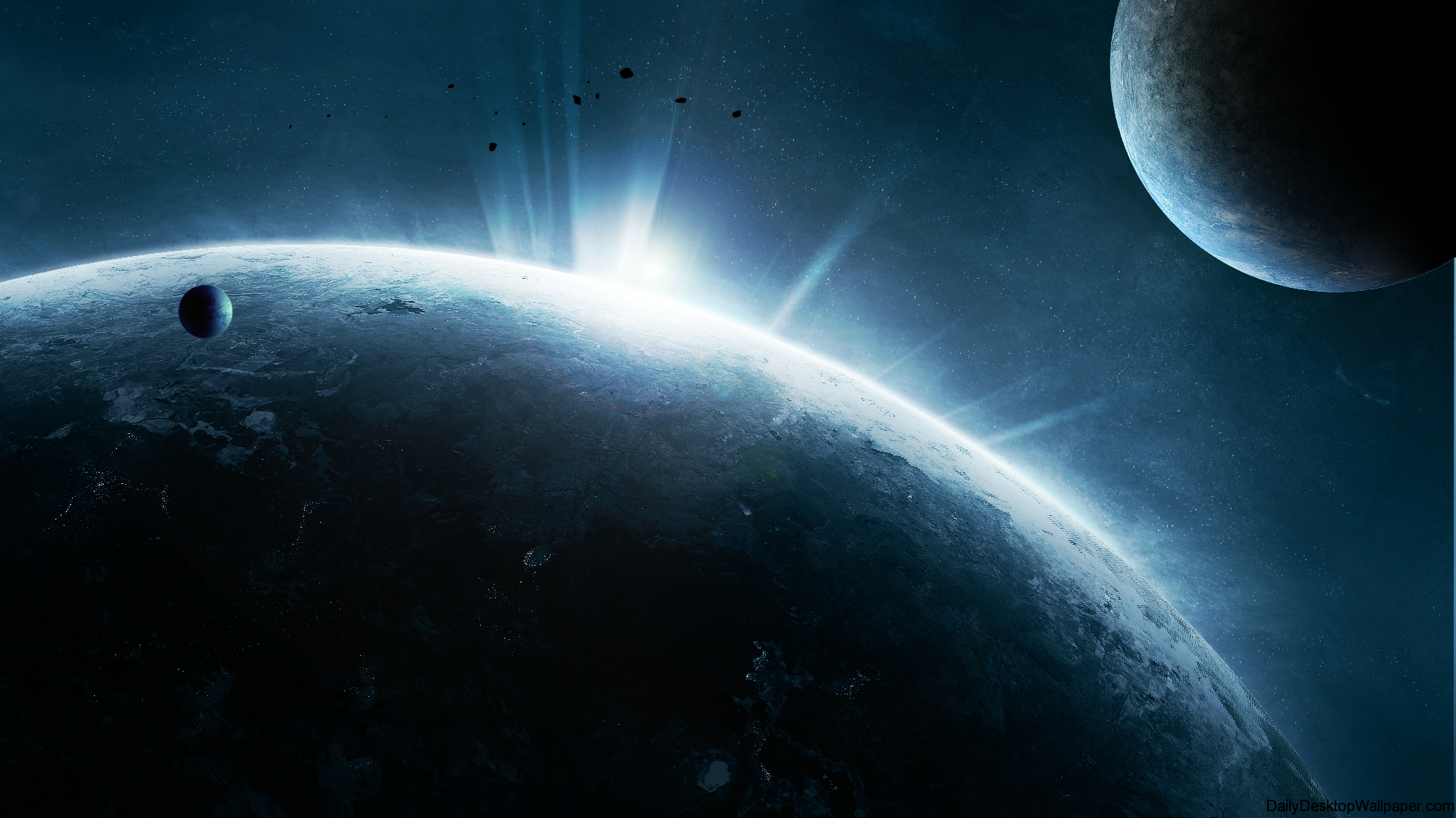 deep space hd wallpaper 1366x768 - photo #1
