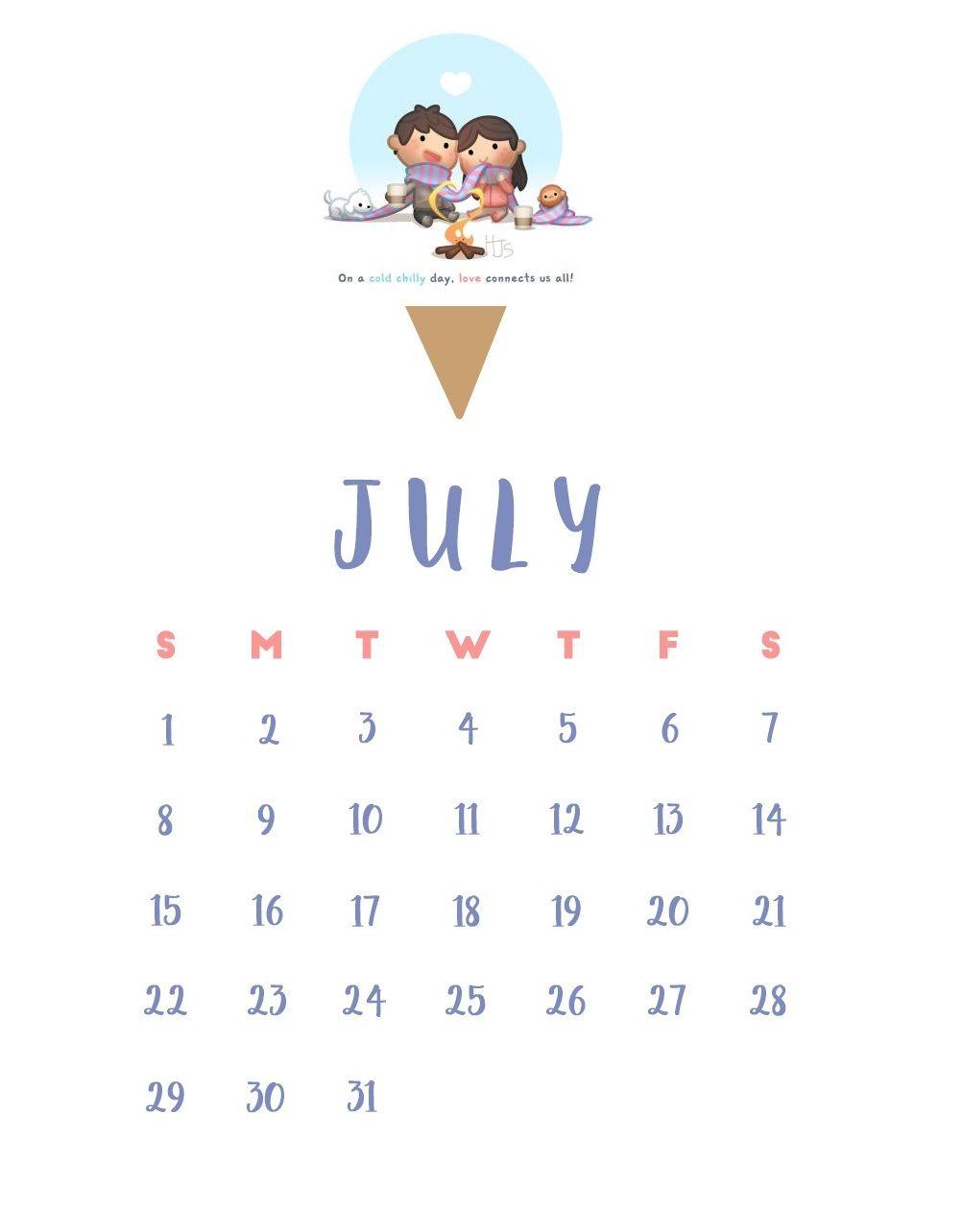 iPhone July 2018 Calendar Wallpaper 2018 Calendars Calendar 1003x1284