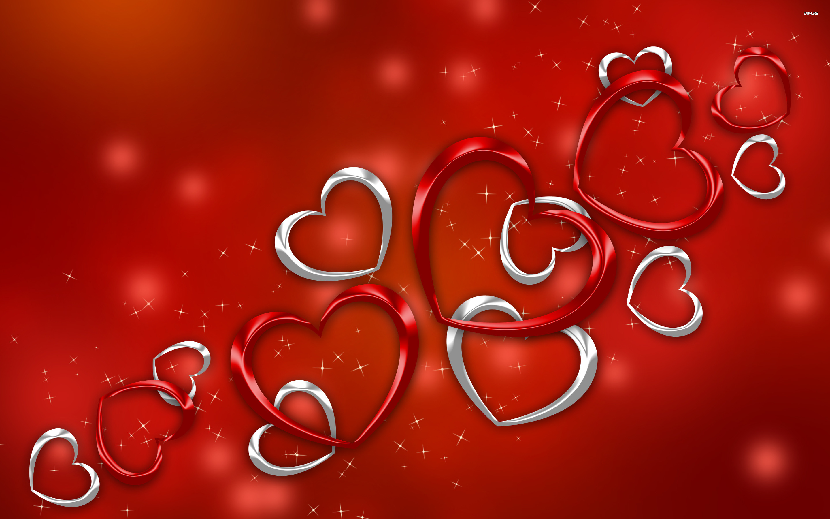 Red Heart Love Wallpaper: Red Heart Wallpapers