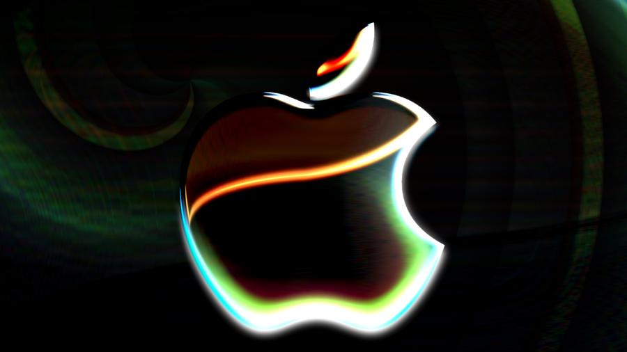 Neon Apple Wallpaper HD by MachRiderZ 900x506