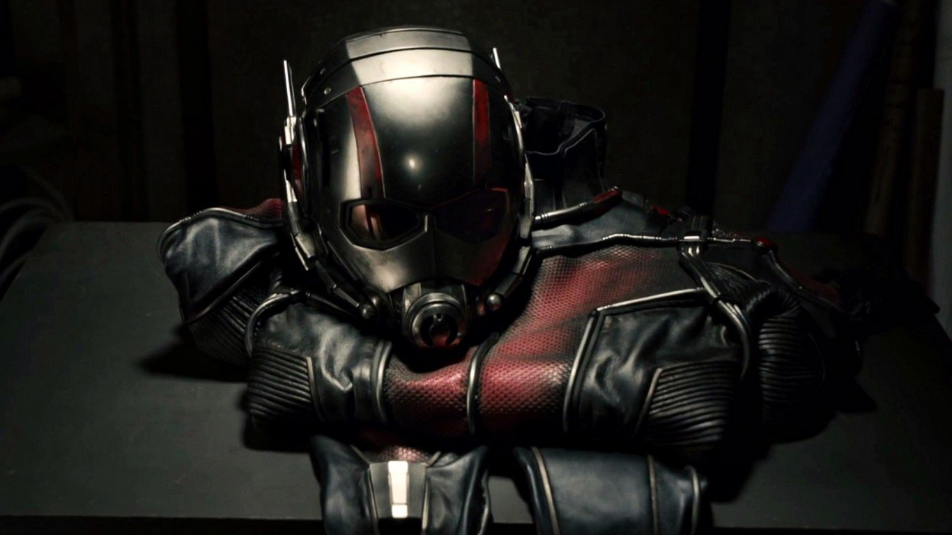 Ant Man mask and costume 1366x768
