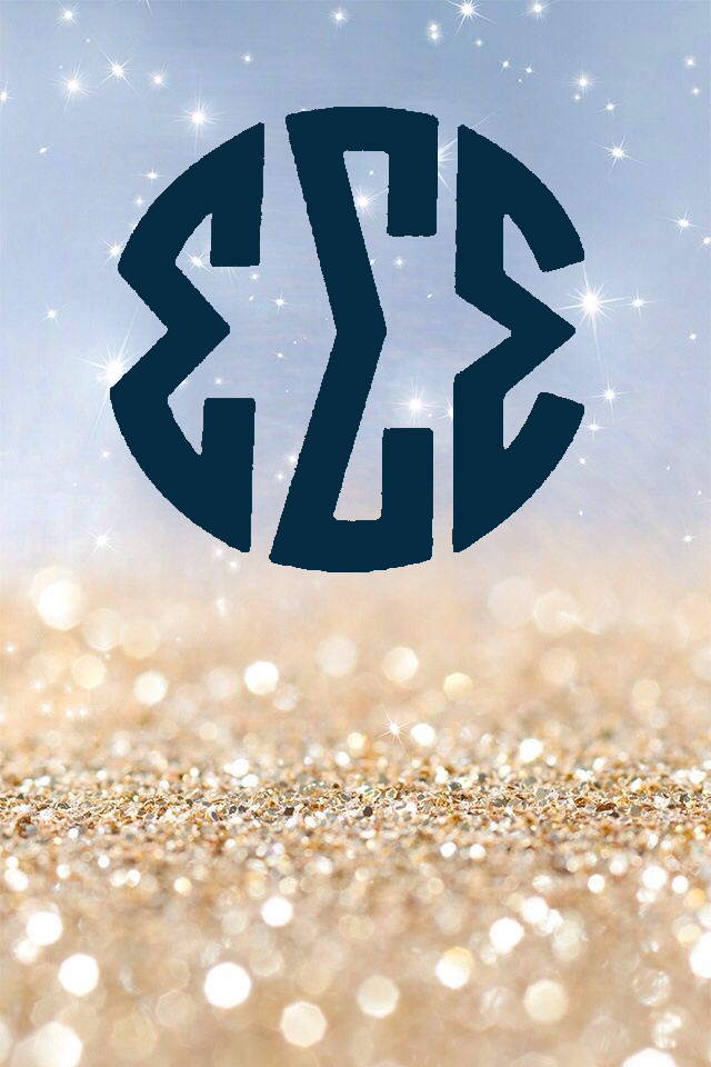 Monogram I iphone wallpaper Backgrounds and Wallpapers 640x960
