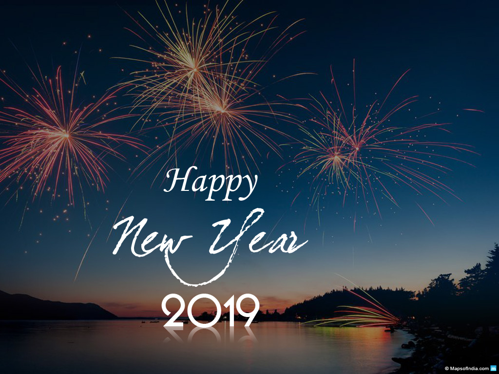 New Year Wallpapers and Images 2019 Download Happy New Year 1024x768
