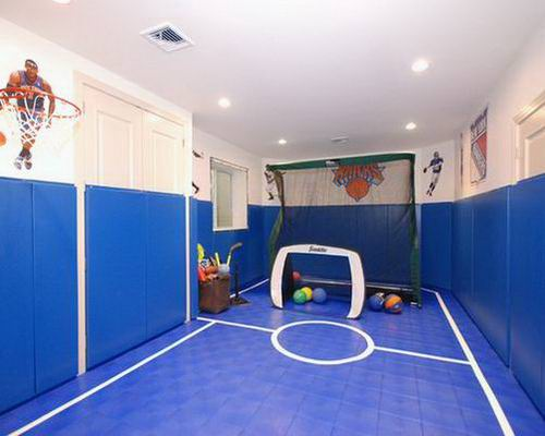 Amazing Kid Bedroom and Playroom Design with Sport Themes Furnikidz 500x400