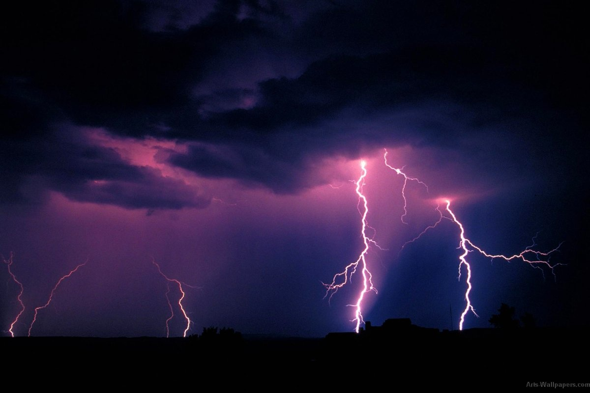 Lighting Storm Wallpapers Prints Posters 1200x800