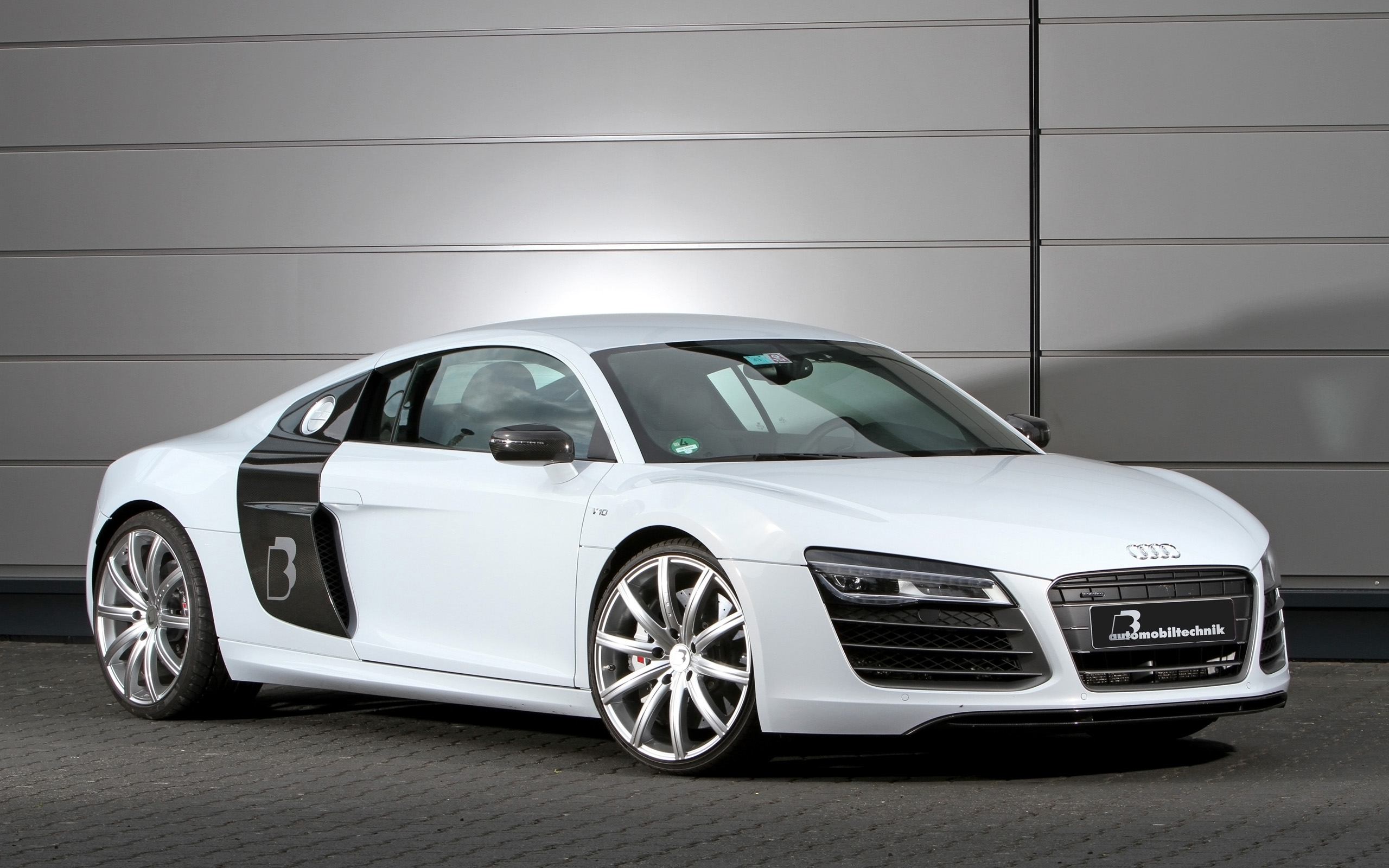 2013 BB Automobiltechnik Audi R8 V10 Plus Wallpaper HD 2560x1600