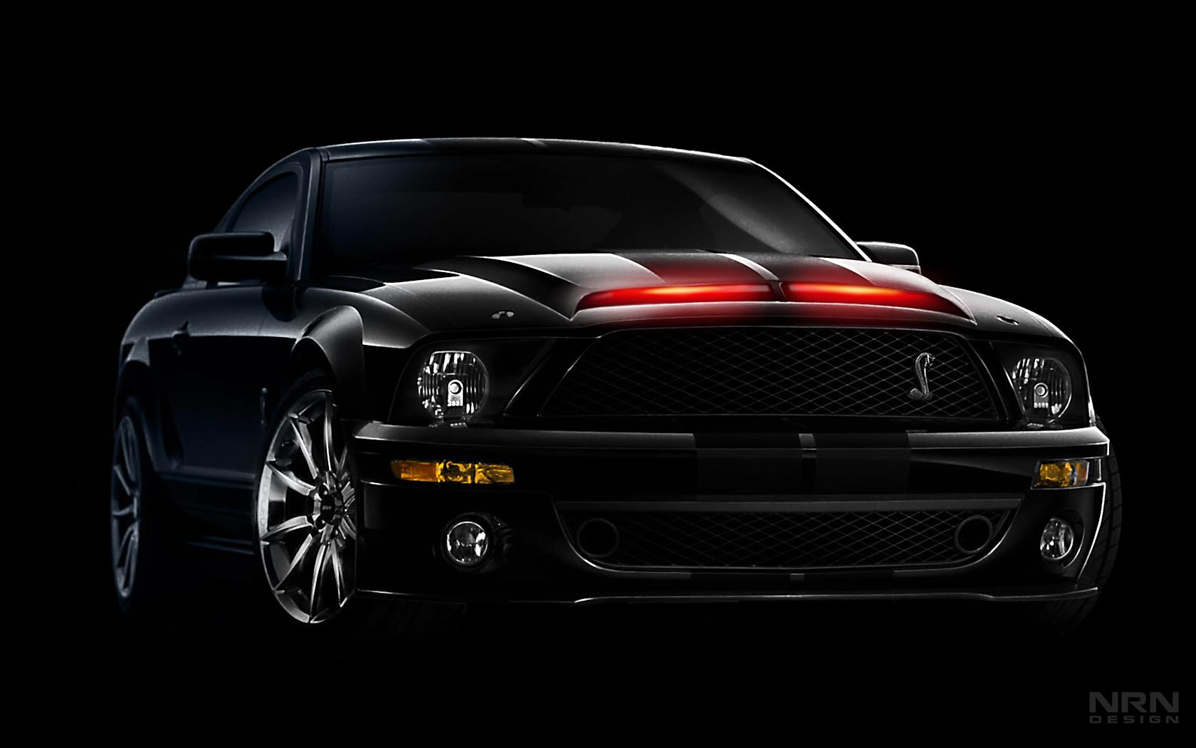 Ford Mustang Knight Rider Wallpaper Download Wallpaper Cars 1680x1050