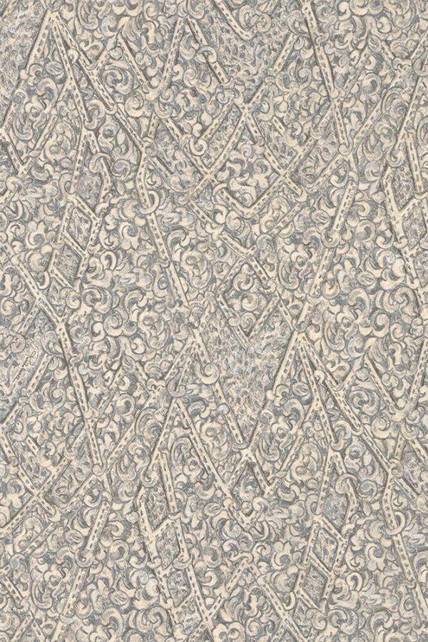Angular Damask by Roberto Cavalli   Pewter   Wallpaper   16037 600x900