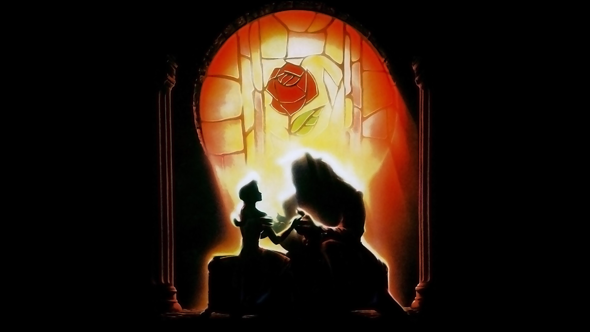 Beauty and the Beast Wallpaper   Original Poster   Beauty and the 1920x1080