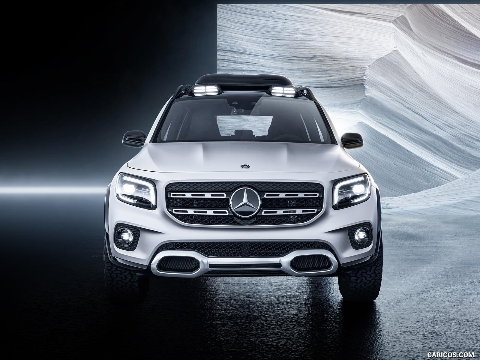 2019 Mercedes Benz GLB Concept   Front HD Wallpaper 5 1600x1200