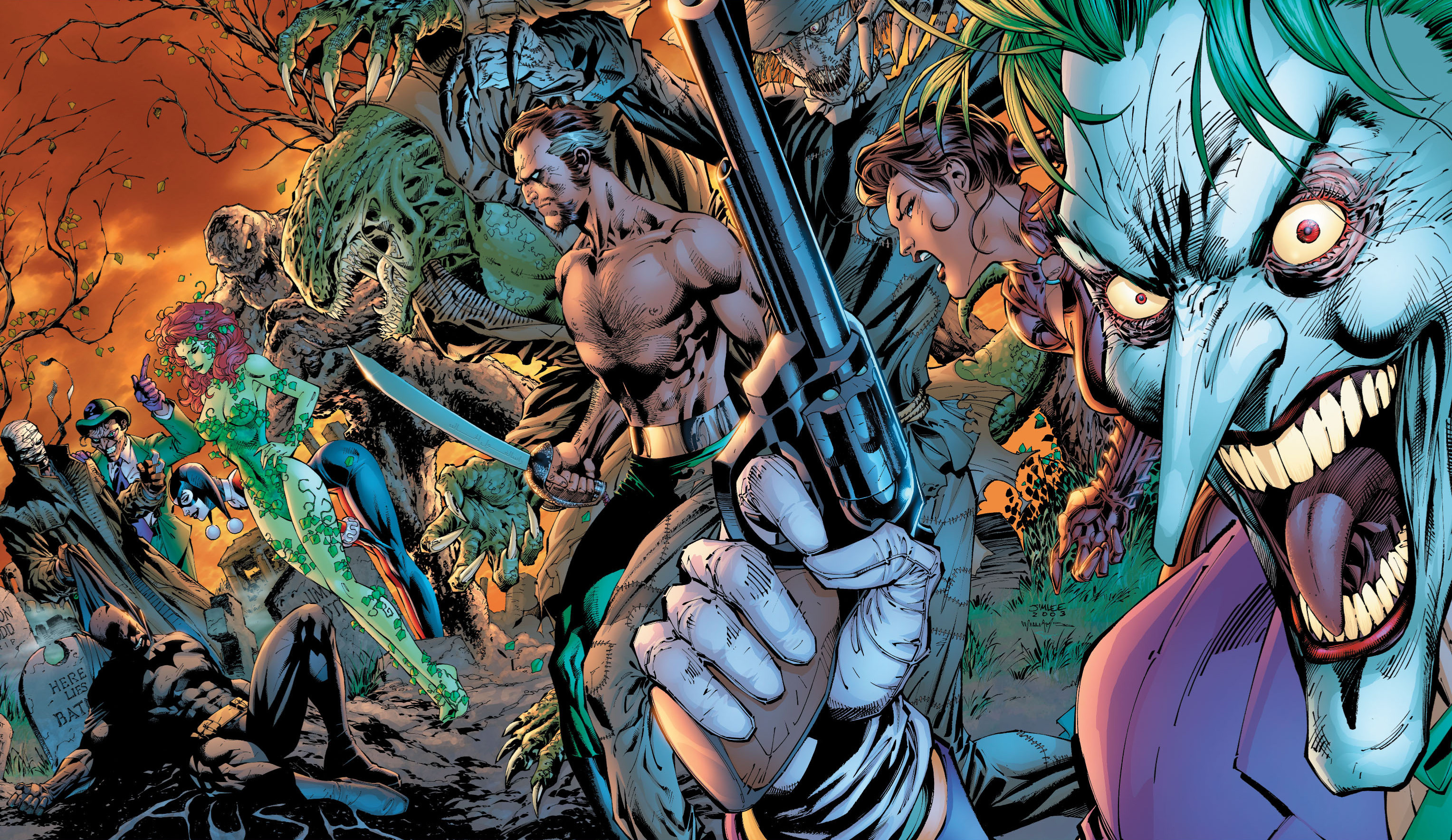 68 Batman Hush Wallpapers on WallpaperPlay 3056x1769