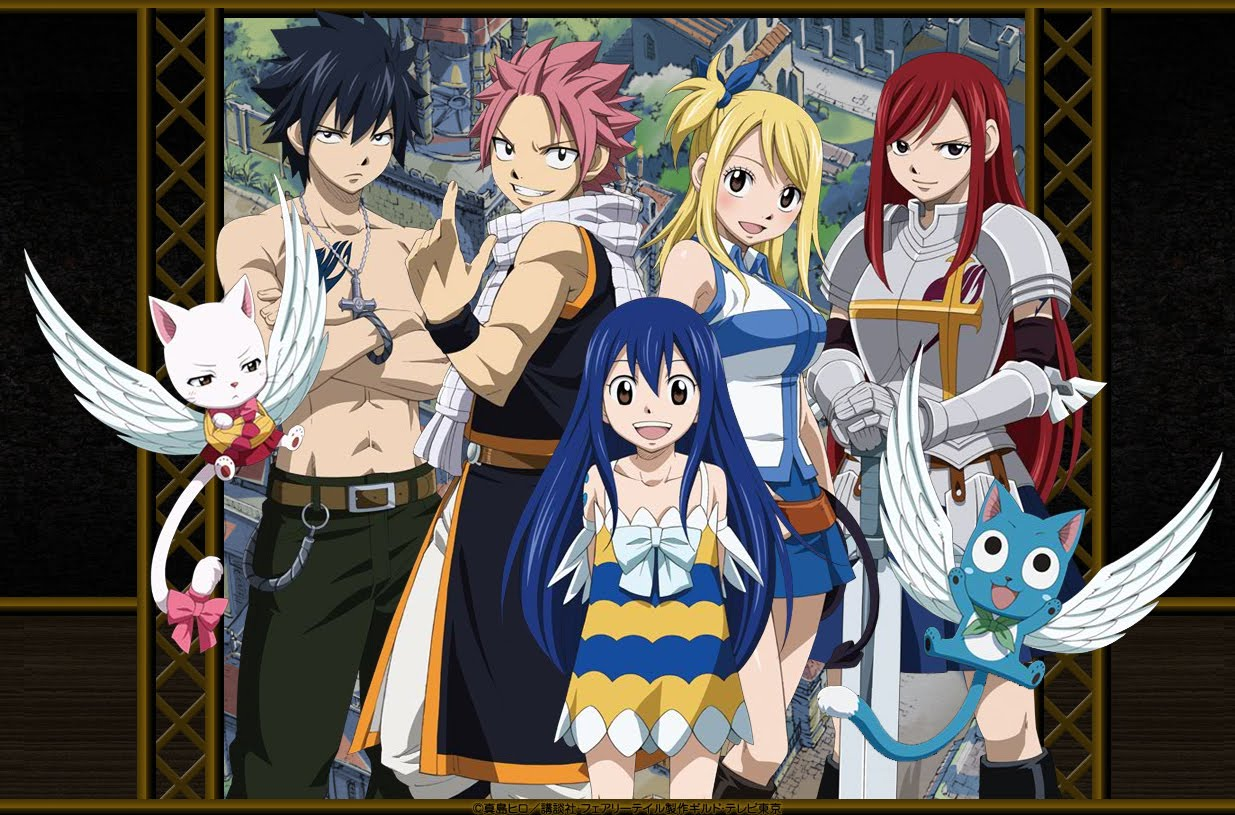 Naruto And Bleach Anime Wallpapers Fairy Tail HD 1235x815