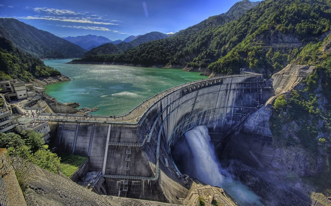 Water dam wallpaper 1920x1200 22262 WallpaperUP 1120x700