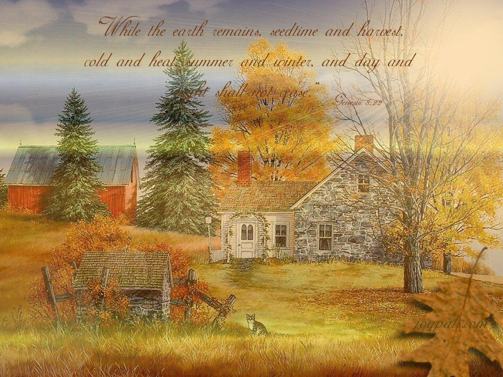 Fall Wallpaper With Scripture Verses Wallpapersafari