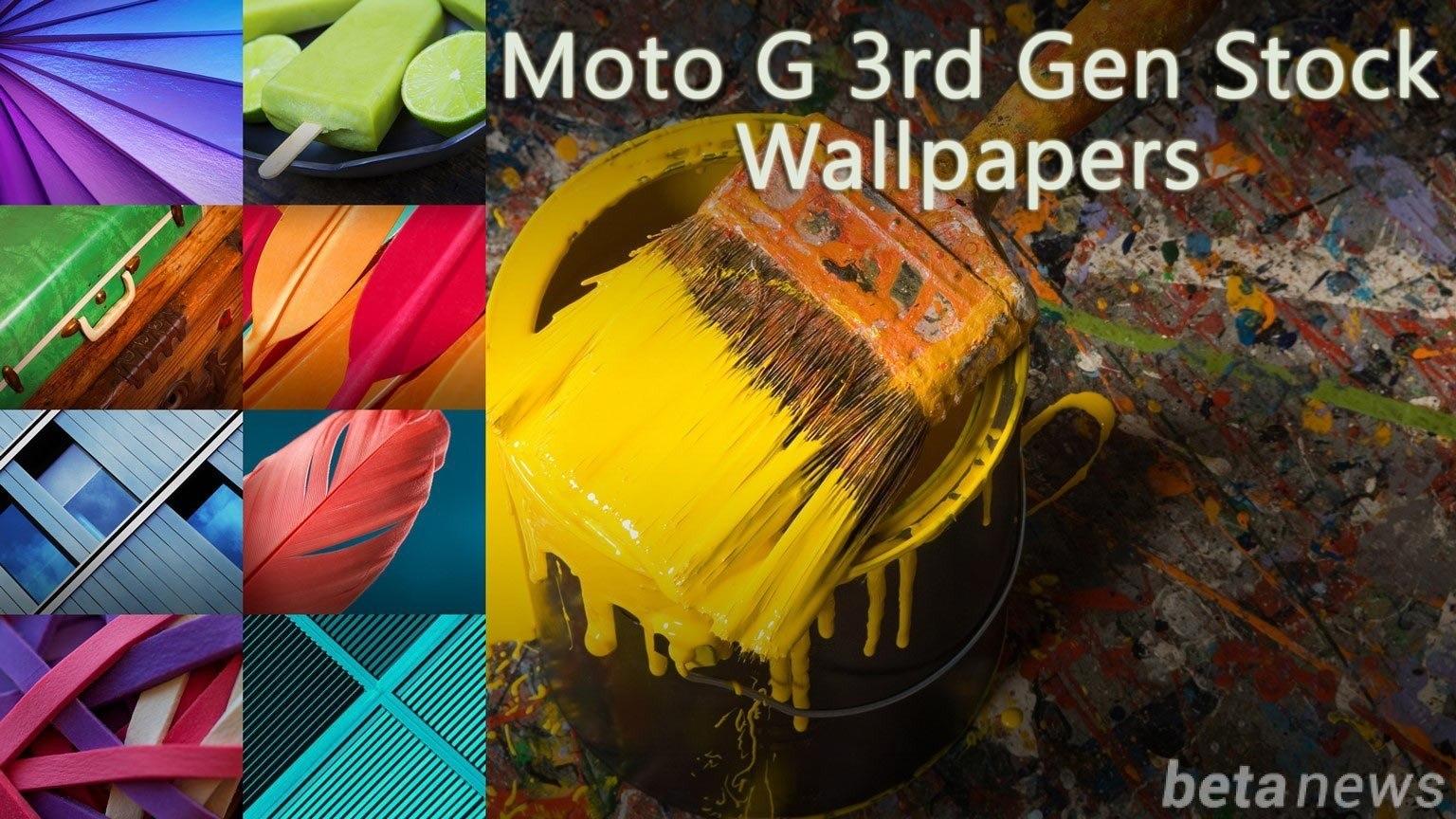 out the original Moto G 3rd Gen 2015 stock wallpapers below Moto G 1536x864