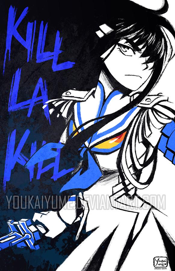 Kill La Kill Satsuki Side by YoukaiYume 582x900