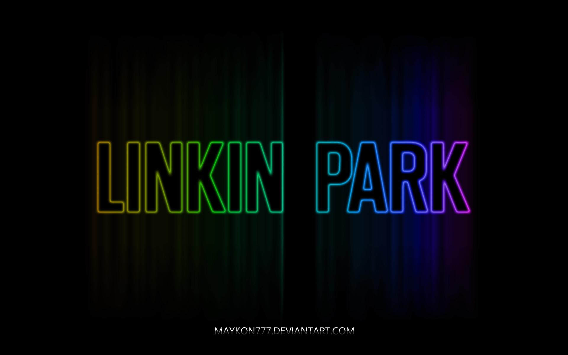 linkin park logo 4 by maykon777 customization wallpaper hdtv 1920x1200