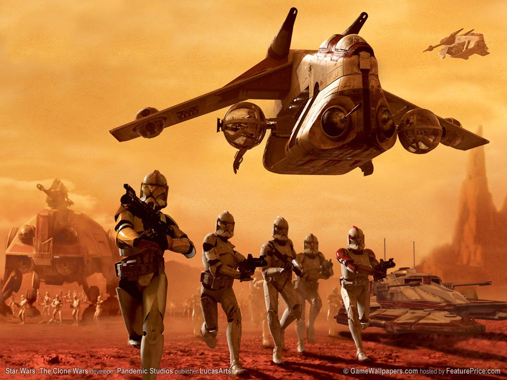 75 Star Wars Clone Wars Wallpaper On Wallpapersafari