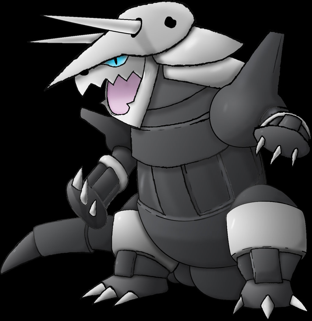 Aggron by varioussean 1024x1056