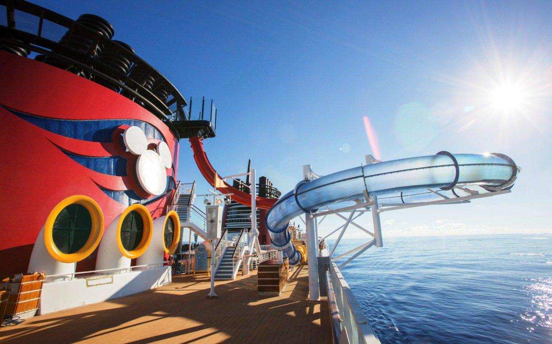 Disney Magic Cruise Line Logo Aquadunk on the disney magic 1240x775