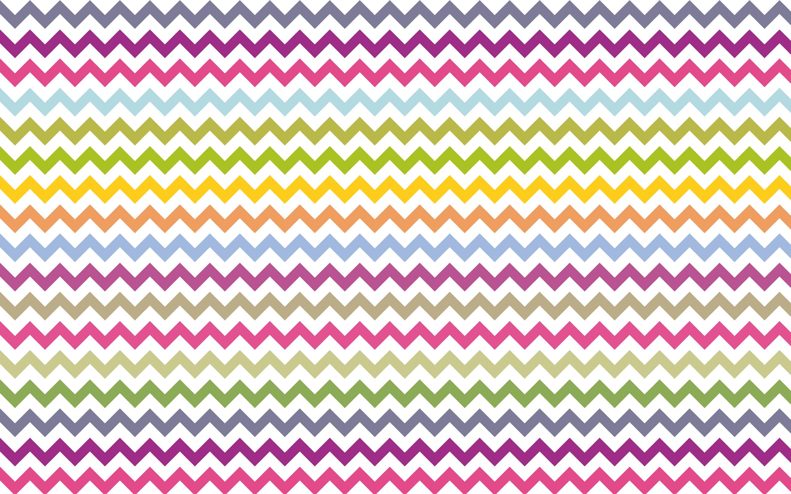 My colorful chevron desktop wallpaper   Another House Blog 2560x1600