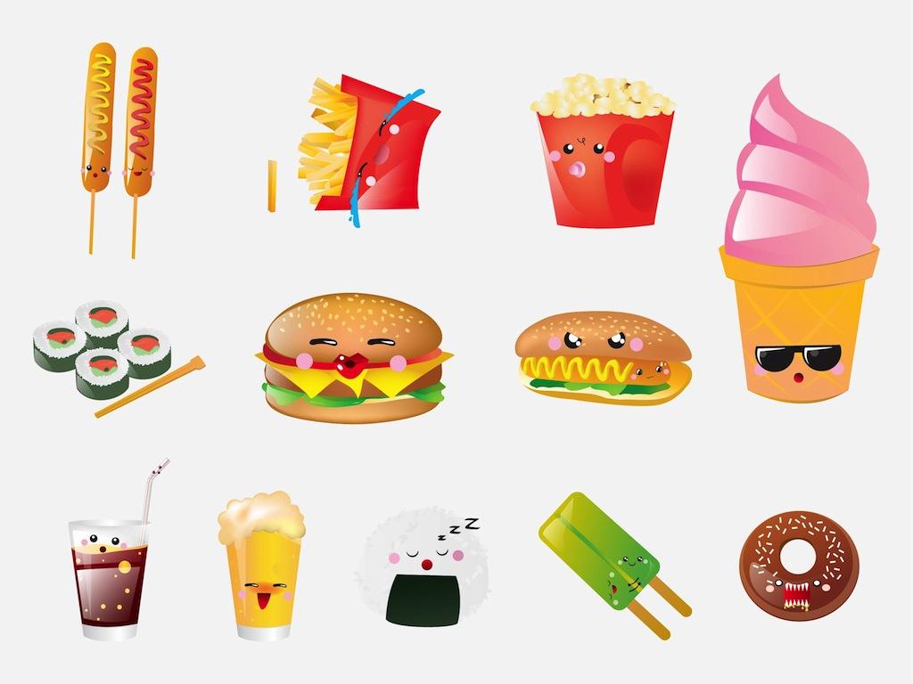 Cartoon Food Pictures   Desktop Backgrounds 1024x768