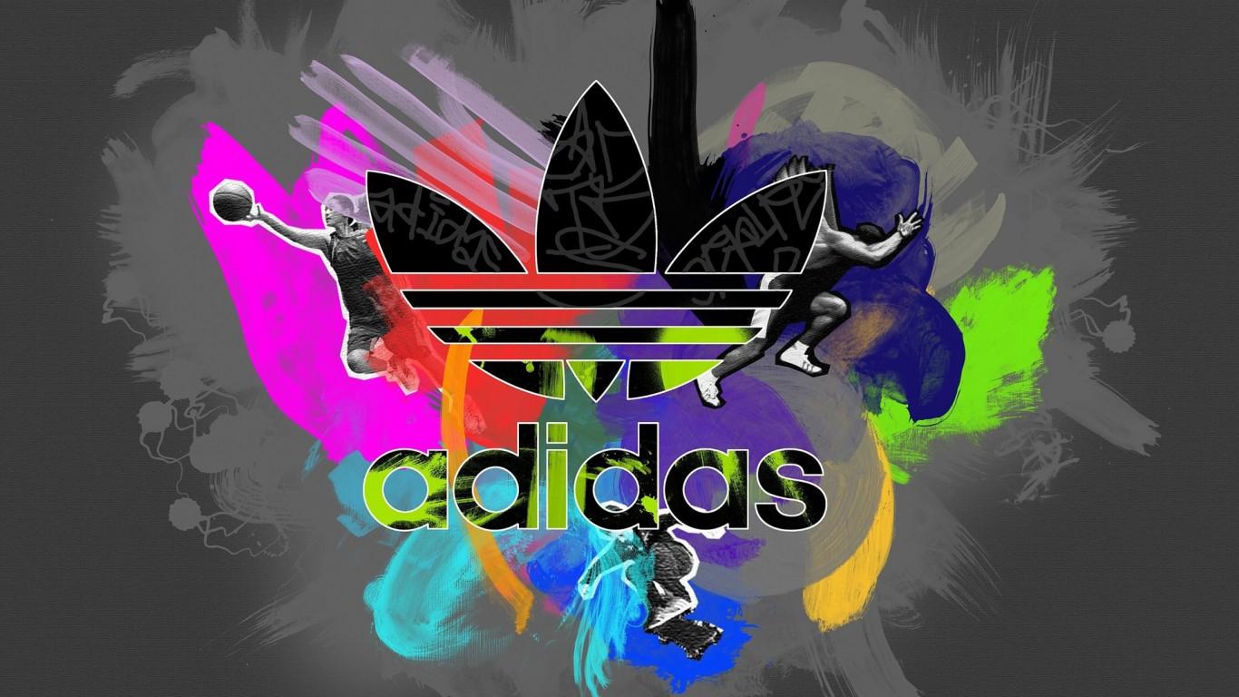 Adidas Logo Wallpaper 5705 Hd Wallpapers in Logos   Imagescicom 1366x768