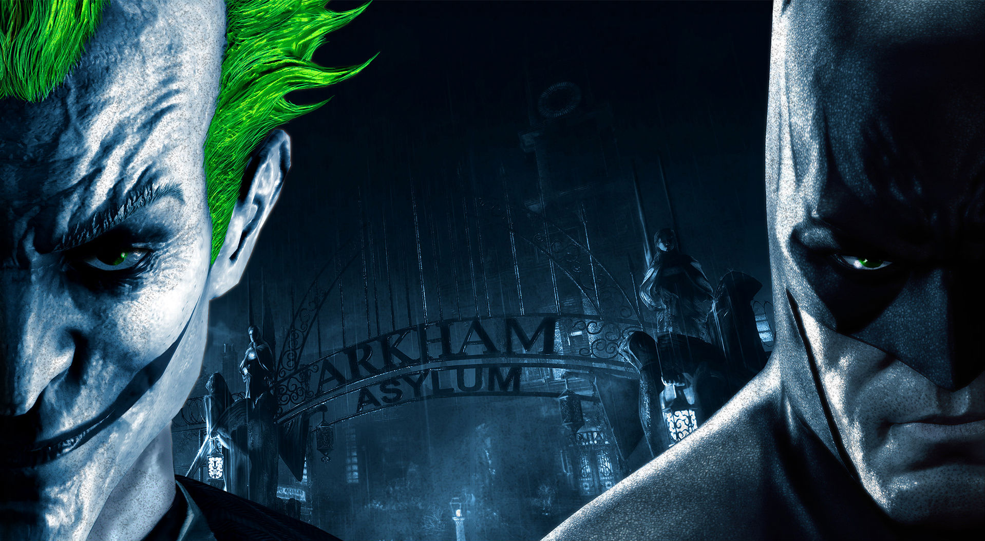 43 Batman Arkham Asylum HD Wallpapers Backgrounds 1918x1053