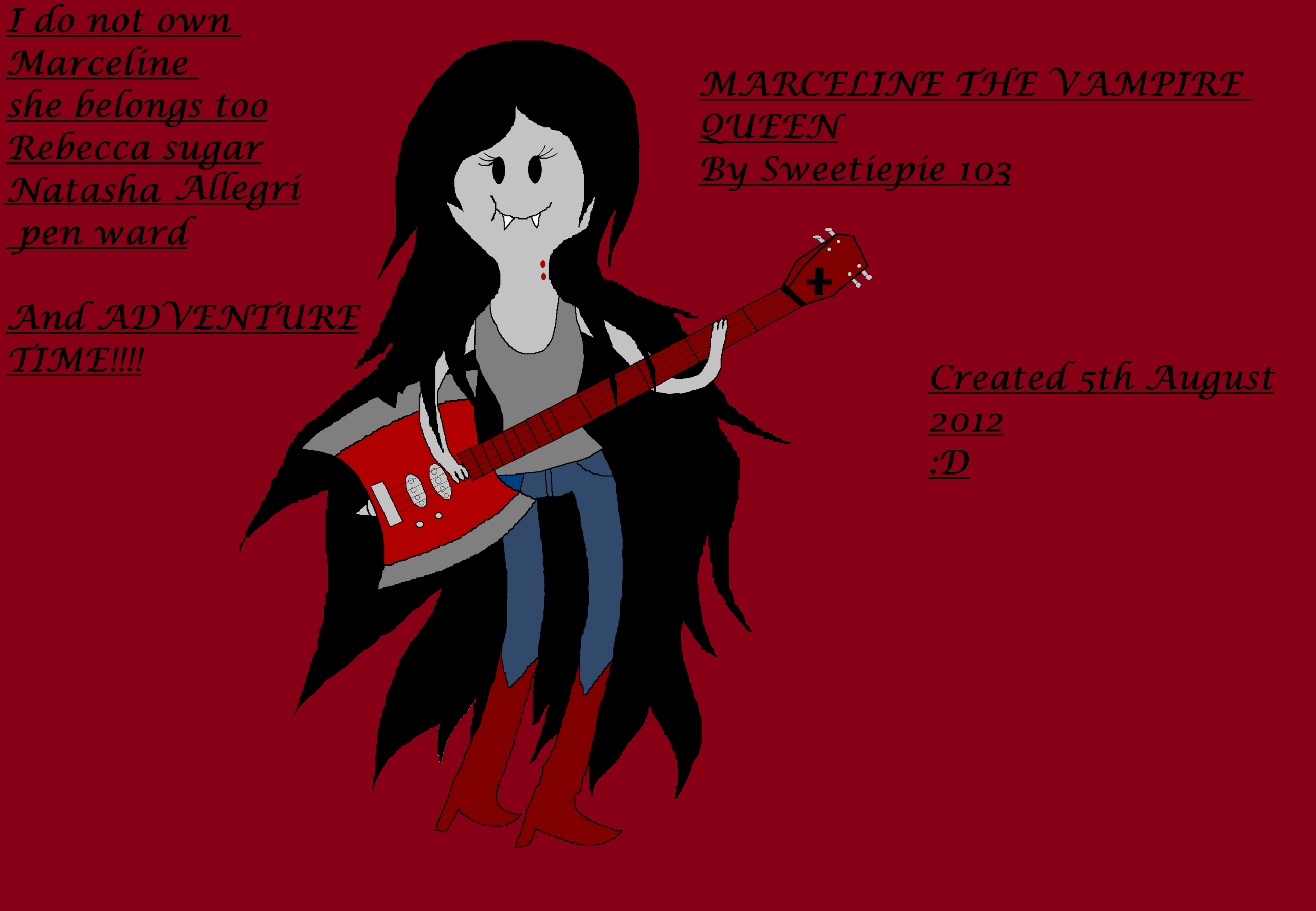 Adventure Time With Finn and Jake images Marceline the vampire 2560x1772