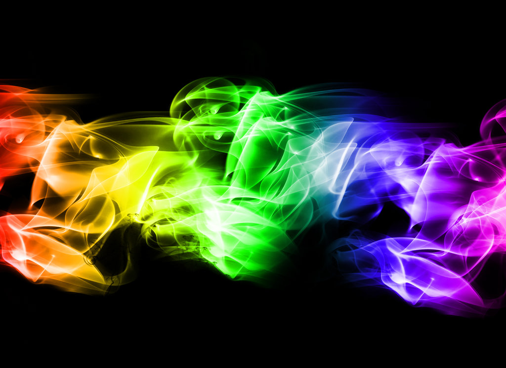 Neon smoke background Desktop and mobile wallpaper Wallippo 1024x745