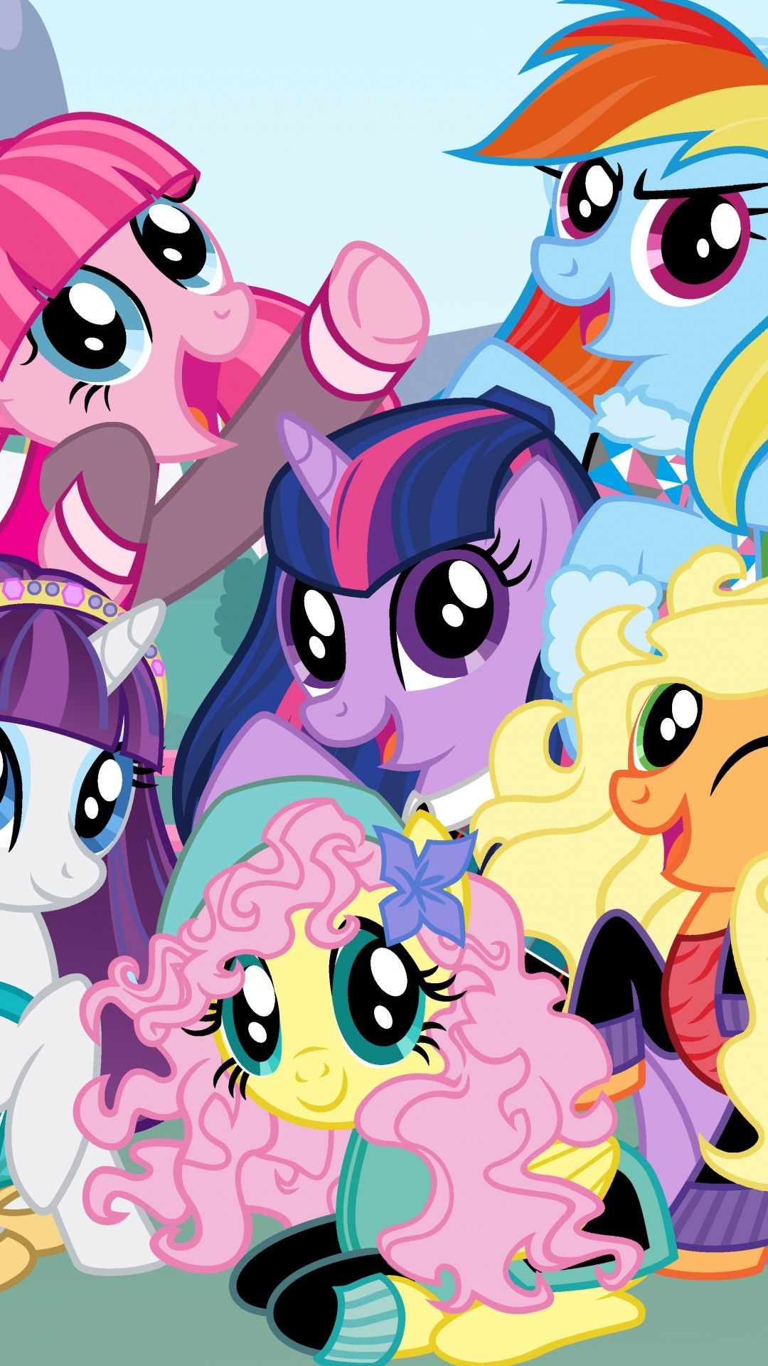 My Little Pony Phone Wallpaper My little pony wallpaper My 1080x1920