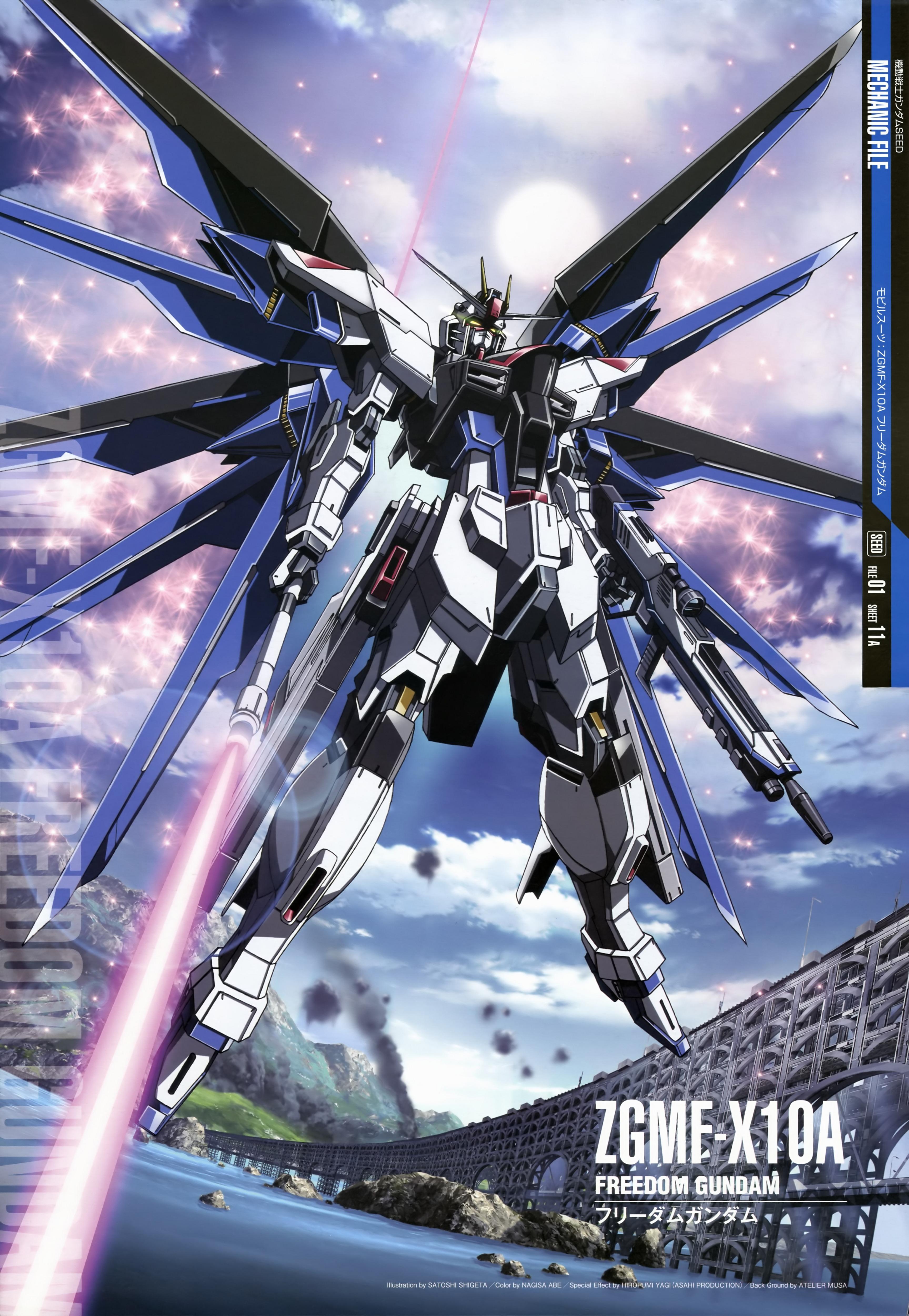 Free download Freedom Gundam Gundam Seed Photo 34040582 [3455x5000