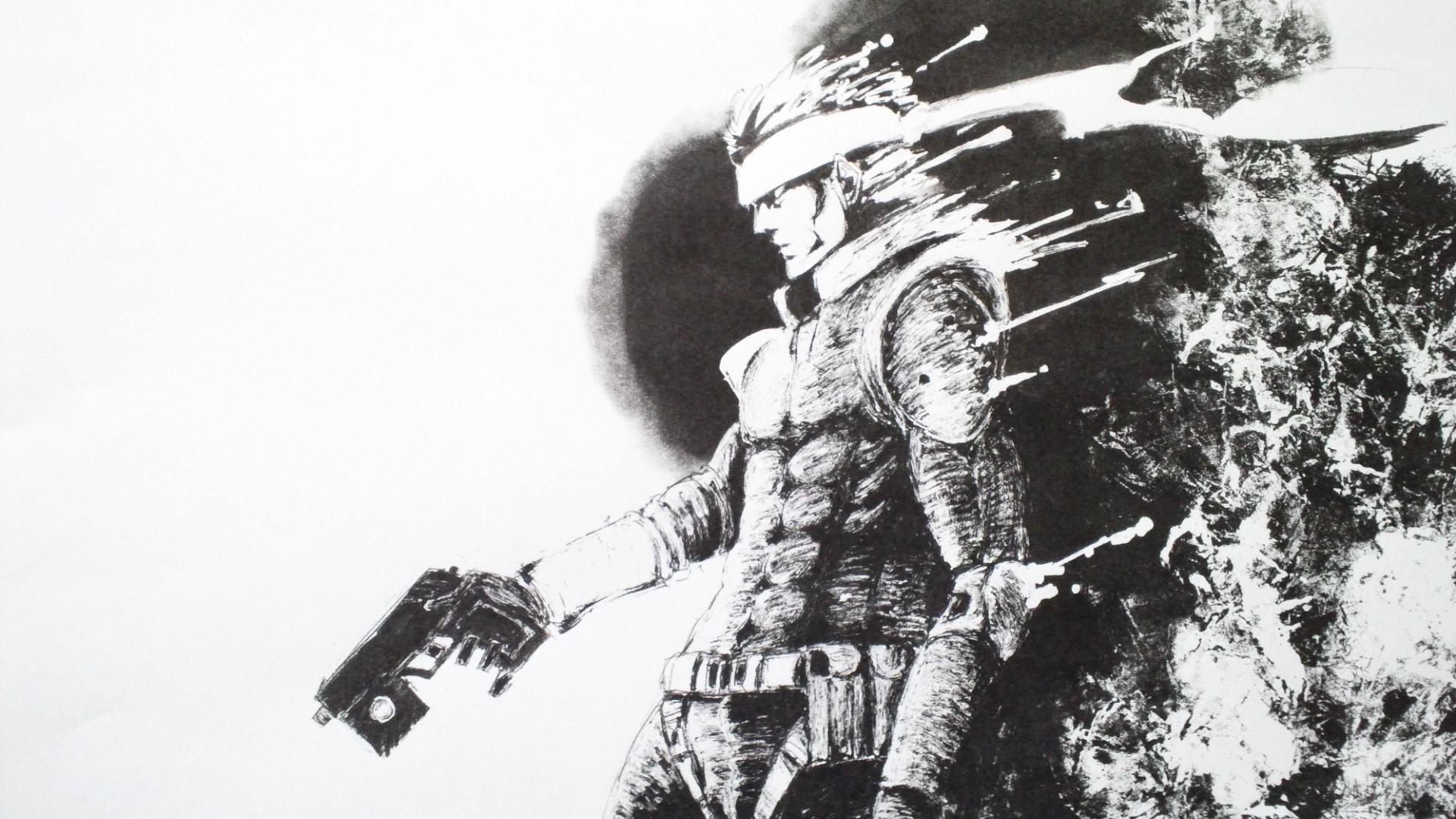 Free Download Metal Gear Solid Solid Snake Hd Wallpaperjpg